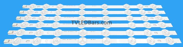 4x A strip 42FHD-L NDV REV0.2 2x C strip 42FHD-L NDV REV0.2 Screen Type(s): VES420UNDL-N01 Compatible Models: Hitachi 42HXT12U 42HXT42U LINSAR 42LED450S 42LED400S