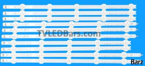 LG LED Array Strip Bar 6916L 1318A 1319A 1320A 1321A 1412A 1413A 1414A 1415A 1385A 1386A 1387A 1388A 1338A 1339A 1340A 1341A LC420DUE SFR1 SFR2 SFR3 SFR4 SFU1 SFU2