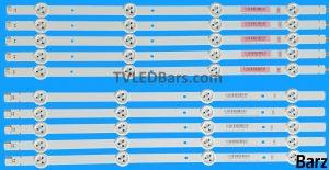Original Full LED Backlight Array Panasonic 42 SV0420A88 TX-42AAS V420FWSD09 10pcs BZ234001