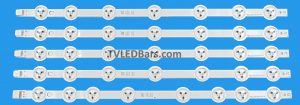 Strip numbers: 4x A strip 390DLED_A-TYPE_REV02 1x B strip 390DLED_B-TYPE_REV02 Screen Type(s):  VES390UNDA-2D-N02 VES390UNDA-2D-N03 Compatible Models: Panasonic TX-39A300B Finlux 39FPD274B-T JVC  LT-39C740(A) Digihome 39273SMFHDLED