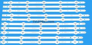 Original Backlight Array LED Strip Bar Panasonic 47″ V14 Slim DRT LC470DUF (VG) (F1) (VG) (F2) TX-47AS 10pcs £89.98 Strip numbers: 3pcs R1 6916L-1811A 3pcs L1 6916L-1812A 2pcs R2 6916L-1814A 2pcs L2 6916L-1813A Screen Type(s): LC470DUF (VG) (F1) LC470DUF (VG) (F2) LC470DUF -VGF2 LC470DUF -VGF1 Compatible Models: Panasonic TX-47AS650B TX-47AS740B TX-47AS650E TX-47AS740E TX-47ASW654 TX-47ASW754 TH-47AS670H TH-47AS670H TH-47AS700A TX-47ASM651E TX-47ASM655 TH-47AS700K TH-47AS700Z TX-47ASW745