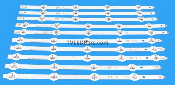 Original Backlight Array LED Strip Bar Panasonic 42″ V14 Slim DRT LC420DUF (VG) (F1) (VG) (F2) TX-42AS 10pcs £79.98 Strip numbers: 3pcs R1 6916L-1808A 3pcs L1 6916L-1807A 2pcs R2 6916L-1810A 2pcs L2 6916L-1809A Screen Type(s): LC420DUF (VG) (F1) LC420DUF (VG) (F2) LC420DUF -VGF2 LC420DUF -VGF1 Compatible Models: Panasonic TX-42AS650B TX-42AS740B TX-42AS650E TX-42AS740E TX-42ASW654 TX-42ASW754 TH-42AS670H TH-42AS670H TH-42AS700A TX-42ASM651E TX-42ASM655 TH-42AS700K TH-42AS700Z TX-42ASW745