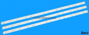 Replacement Full LED Backlight Array Philips 32 TPT315B5 GJ-2K16 D2P5-315 D307-V3 3pcs BZ158000