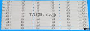 Original Full Backlight Array 55 Hisense HD550DU-B51 SVH550AF2_6LED_REV01_140919 10pcs BZ556002v
