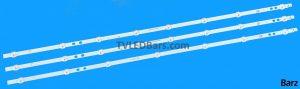 Original LED Backlight Array Vestel 40 VES400UNDS-2D-N11 N12 N14 LB40017 23331585 2xA 1xB