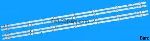 Original LED Backlight Array Vestel 43 VES430UNDA VES430UNDS VES430UNDL 2xA 2xB
