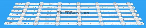 "A - VESTEL 50"" DRT UHD A-TYPE REV01 2pcs B - VESTEL 50"" DRY UHD B-TYPE REV01 Screen Type(s): VES500QNDA-2D-N12 VES500QNDA-2D-N11 VES500QNDC-2D-N11 VES500QNDC-2D-U11 VES500QNDA-2D-U11 Compatible Models: Hitachi 50HK15T74U Luxor LUX0150007/01 Polaroid P50US2236A P50UP2038A P50US0956A Luxor LUX0150007/01 Digihome 50292UHDSFVPT2 50292UHDDLEDCNTD Techwood 50AO4USB 50A04USB Finluc 50-FUC-8020"
