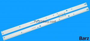 Original Full LED Backlight Array Samsung 55 BN96-39601A + BN96-39602A BN96-39597A + BN96-39598A BN96-39595A + BN96-39596A UE55KUMU 2pcs BZ823823