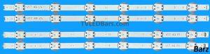 Replacement LED Backlight Array LG AGF78666601 AGF78687101 49″ V17 LC490DGG FKM1 FKM2 FKM3 FKM8 6916L-2862A + 2863A 6916L-2862B + 2863B 4pcs