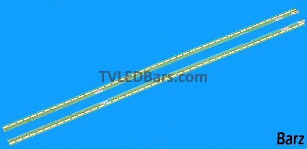 (Used) Full LED Backlight Array LG 43 V15 UHD 43UF680V 43UF6807 6922L-0146A 6922L-0147A 6916L2309A + 6916L2308A 2pcs BZ812817