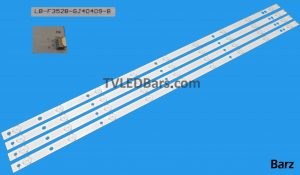 LB-F3528-GJ40409-B 40D2P5 Compatible part numbers: GJ-DLEDII P5-400-D409-V7 GJ-2K15-D2P5-395-D409-V0 GJ-2K15 D2P5-400-D409-C2 GJ-2K15 D2P5-400-D409-C4 Screen Type(s): TPT400UA-HN02.S TPT400UA-DJ1QS5.NTPT400LA-K1QS1.N TPT400LA-HN02.S TPT400LA-36PE1 Compatible Models: Philips 40PFS6609/12 40PFH4319/88 40PFH4100/88 BDM4065UC/00 40PUT6400/1240PFT6550/12 40HFL3010T/12 40PFT5500T 40PFT6510 40PFH5500/88 40PFH4100 40PFH4101