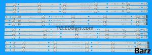 Original Full LED Backlight Array LG 65 AGF78818401 NC650DGE-AAFX1 AAFX3 AAFX5 AAFX7 EAV3673007 AA 65UJ63_UHD _A BB 65UJ63_UHD _B CC 65UJ63_UHD _C DD 65UJ63_UHD _D 12pcs BZ112932
