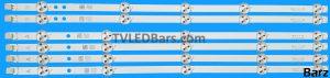 Original Full Backlight Array 50 Vestel VES500UNDA-2D-N11 VES500UNDS-2D-N12 VES500UNDL-2D-N11 VES500UNDC-2D-N11 JL.D50051330-078AS-C SVV500A52A + SVV500A52B 4xA 2xB 6pcs BZ445021