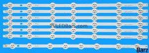 Original Full Backlight Array Vestel 49 VES490UNDL-2D-N01 VES490UNDL-2D-N02 VES490UNDL-N016xA 1xB 7pcs BZ445020