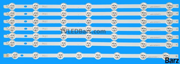 Original Full Backlight Array Vestel 49 VES490UNDL-2D-N01 VES490UNDL-2D-N02 VES490UNDL-N01 6xA 1xB 7pcs BZ445020