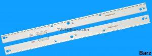 Original Full LED Backlight Array Samsung 40 BN96-39627A + BN96-39628A UE40KUMU 2pcs BZ823820