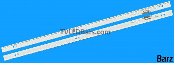 Original Full LED Backlight Array Samsung 48 CY-VH048DSLV1H CY-VH0548CSLV1H BN96-30654A + BN96-30655A UE48H6800 UE48H8000 2pcs BZ823811