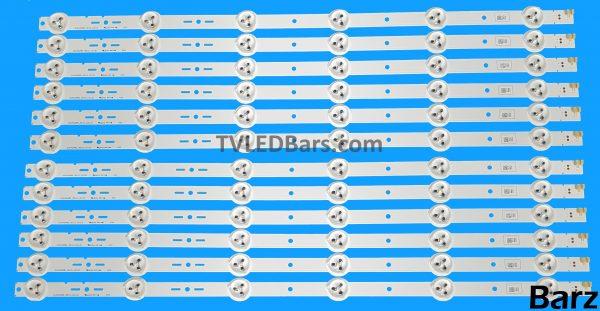 Original Full LED Backlight Array Sony 46 S460DH1-3 S460DH1-2 S460DH1-1 SVG460AB1_REV3_121121 12pcs BZ557502