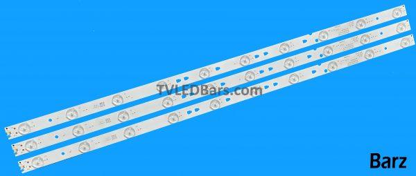 Replacement Full LED Backlight Array 32″ LSC320AN10-H LC320DXJ-SFE1 V320BJ7-PE1 LED315D10-07(B) PN30331510219 3pcs BZ557006