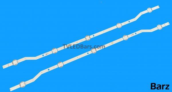 Original Full LED Backlight Array Samsung 32 BN96-36232A BN96-36234A CY-JJ032AGHV5H CY-J032AGHV6H 2015 SVS F-COM 32 HDL5 V5DN-320SM0-R4 V5DN-320SM0-R5 5 LED UE32J4 2pcs BZ223623