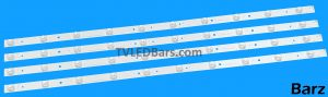 "Replacement Full LED Backlight Array 40"" 40/233F 40G22B 40/234i V400HJ6-PE1 HVW4042 HVW4052 4pcs BZ557009 MOD REQUIRED READ DESCRIPTION"
