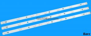 Original Full Backlight Array Philips 32 TPT315B5 GJ-2K16 D2P5-315 D307-V2.2 3pcs BZ158001