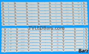 Original Full LED Backlight Array Panasonic 55 TZLP157MTVE SVM550AD8_ REV04_L-Type R-Type TX-55CS520B TX-55CS520ETX-55CSW524 16pcs BZ234017