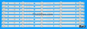 Original Full Backlight Array Philips 42 43 K430WDR K420WDB K430WD9 K420WD7 43PFT 8pcs BZ158002