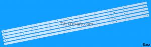 LED Backlight Array Hisense H55A6200UK H55A6100UK H55AE6000 55 HD550S1U51-T0 CRH-BK55S1U51S3030T05107BE-REV1.3 5pcs