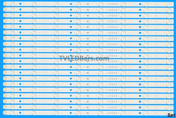 LED Backlight Array LG AGM76190001 55 HC550DQB-SLUAA SSC_SlimDRT_55SK95(50B) _S 20pcs